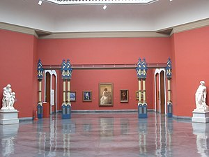 Pennsylvania Academy of the Fine Arts - An exhibition space within the Academy