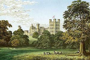 Penrhyn Castle - Penrhyn Castle circa 1880