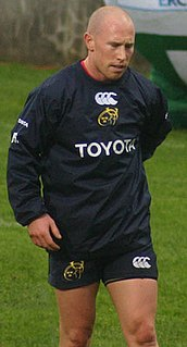 Peter Stringer Rugby player