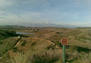 Orange, California - Peters Canyon Park in east Orange