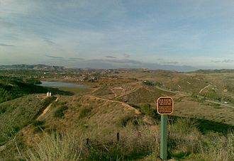 Orange, California - Peters Canyon Park in east Orange