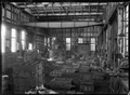 Petone Railway Workshops. Interior view of the Iron Foundry. ATLIB 277732.png