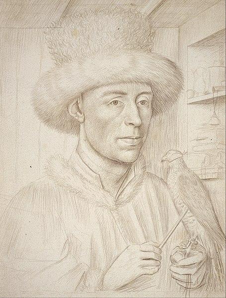 File:Petrus Christus - The Falconer - Google Art Project.jpg
