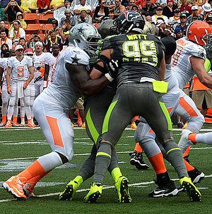 J. J. Watt - Watt during the 2014 Pro Bowl