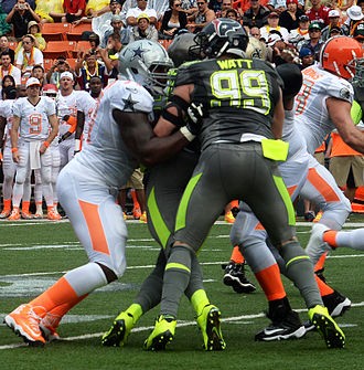 J. J. Watt - Watt during the 2014 Pro Bowl