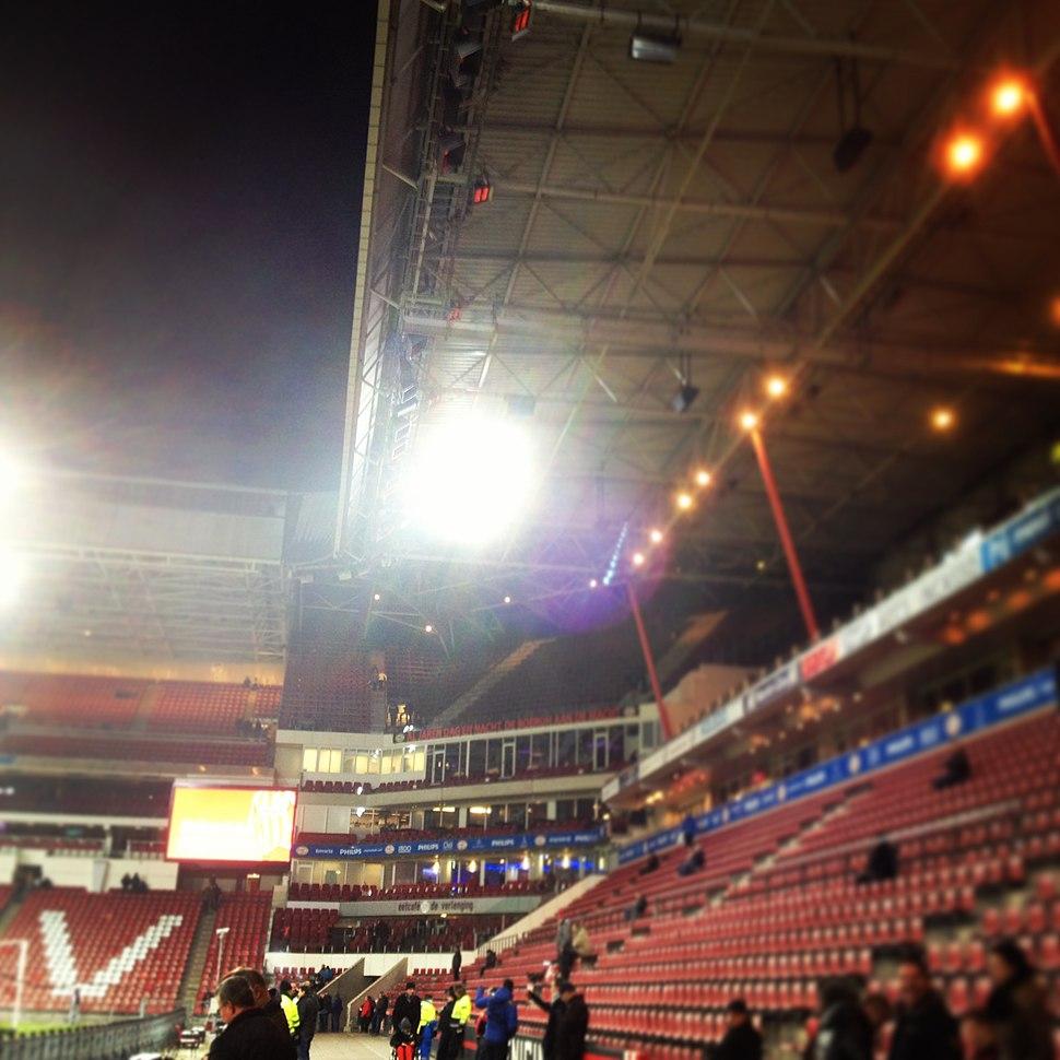 Philips Stadium Eindhoven Jan 2013
