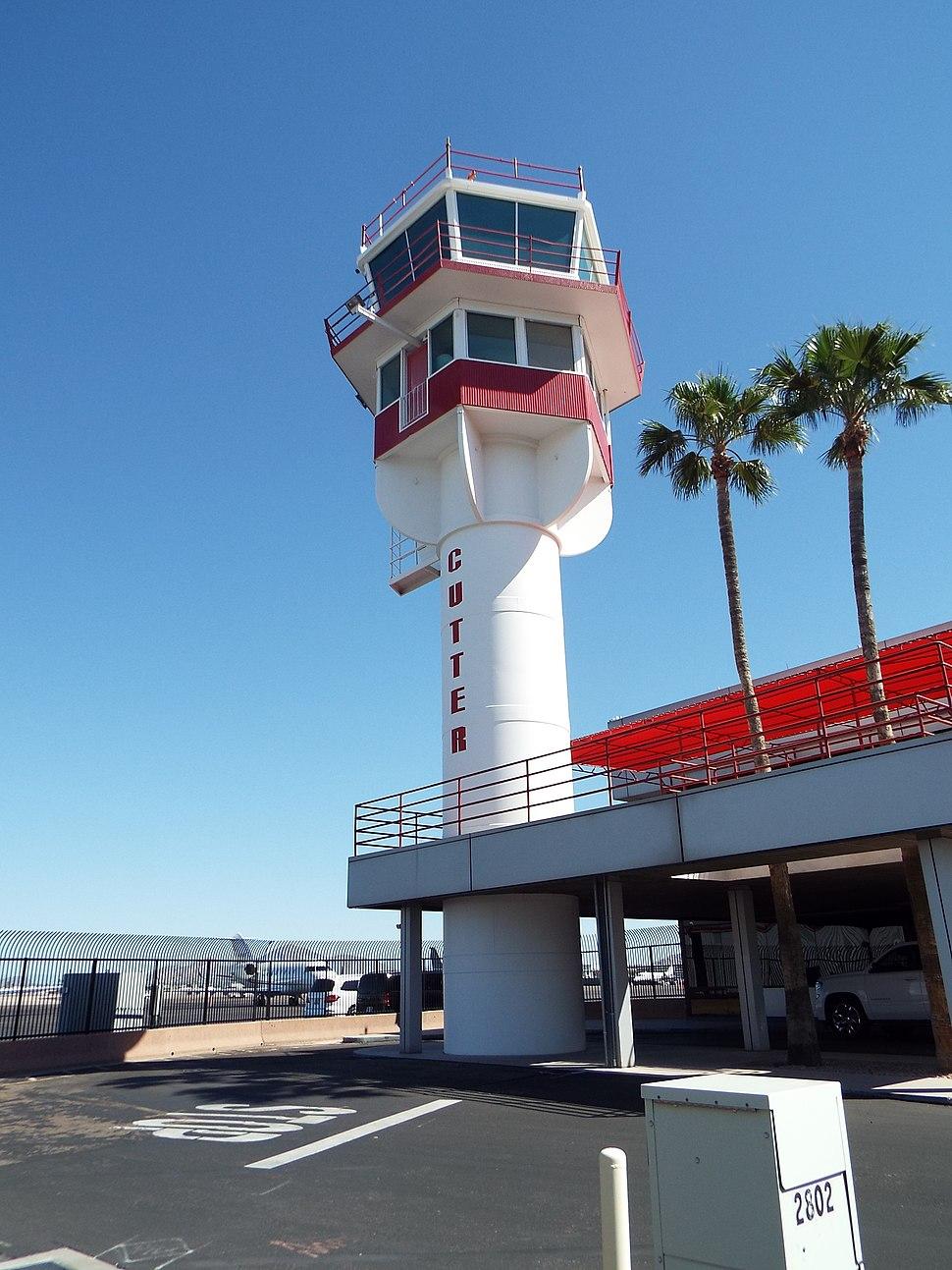 Phoenix-Sky Harbor Air Traffic Control Tower -1952-2