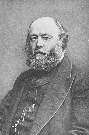 United Kingdom general election, 1886 - Image: Photo of Robert Gascoyne Cecil, 3rd Marquess of Salisbury