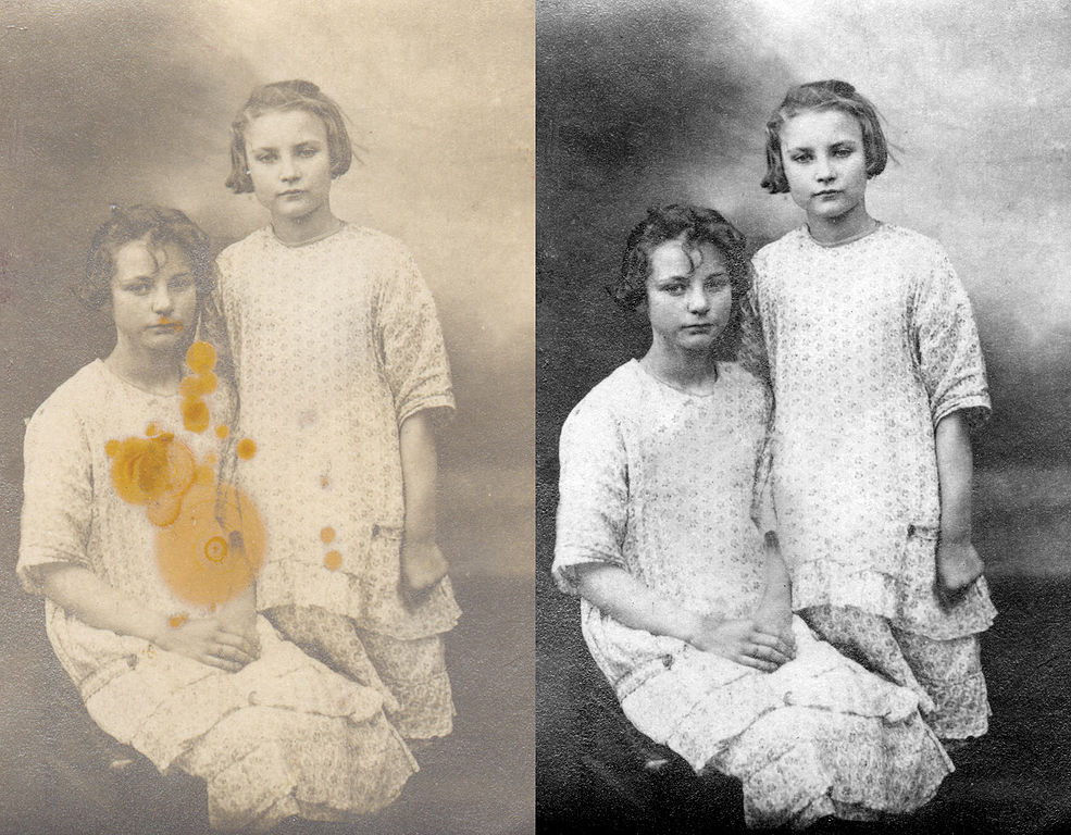 File:Photo Restoration, Before And After.jpg