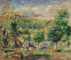 Chestnut Trees, Pont-Aven (Châtaigniers, Pont-Aven)
