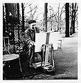 Pierre Aubert aux Tuileries, 1952.jpg