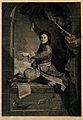 Pierre Louis Moreau de Maupertuis. Line engraving by J. Daul Wellcome V0006560.jpg