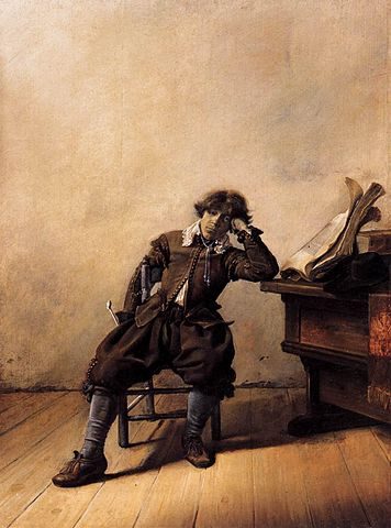 https://upload.wikimedia.org/wikipedia/commons/thumb/2/28/Pieter_Codde_-_Young_Scholar_in_His_Study_-_Melancholy_-_WGA05115.jpg/356px-Pieter_Codde_-_Young_Scholar_in_His_Study_-_Melancholy_-_WGA05115.jpg