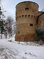 Pieve Sant'Andrea, Imola. Torre Alidosi sec. XV.jpg