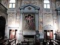 Pieve di marti, interno, altare con crocifisso di ferdinando tacca 01.JPG