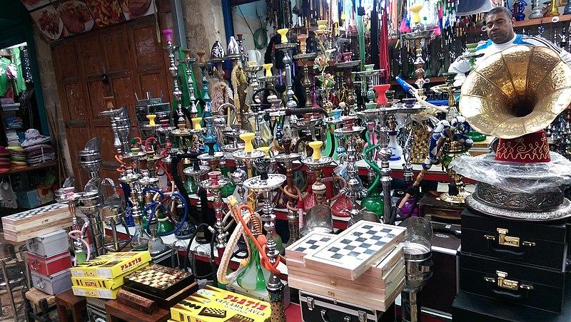חנות בשוק בעכו