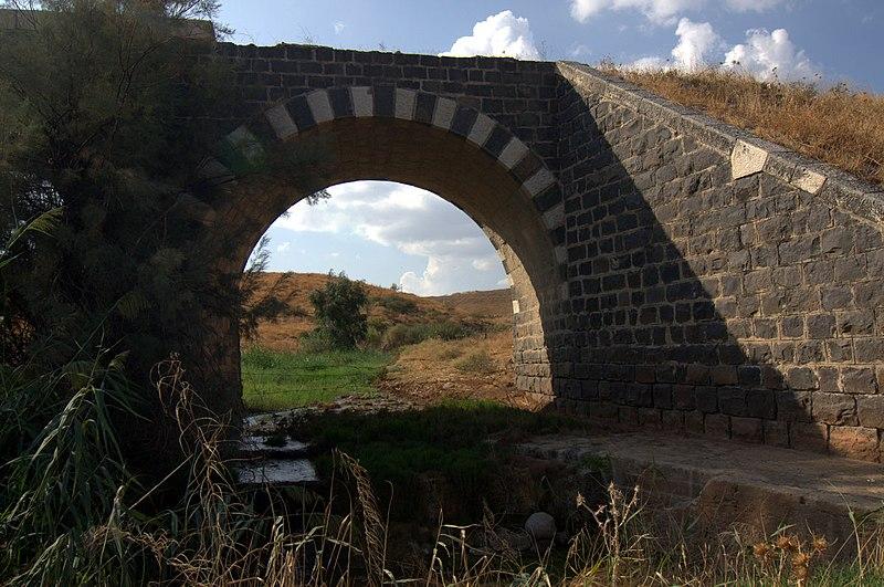 גשר הרכבת מעל נחל יששכר