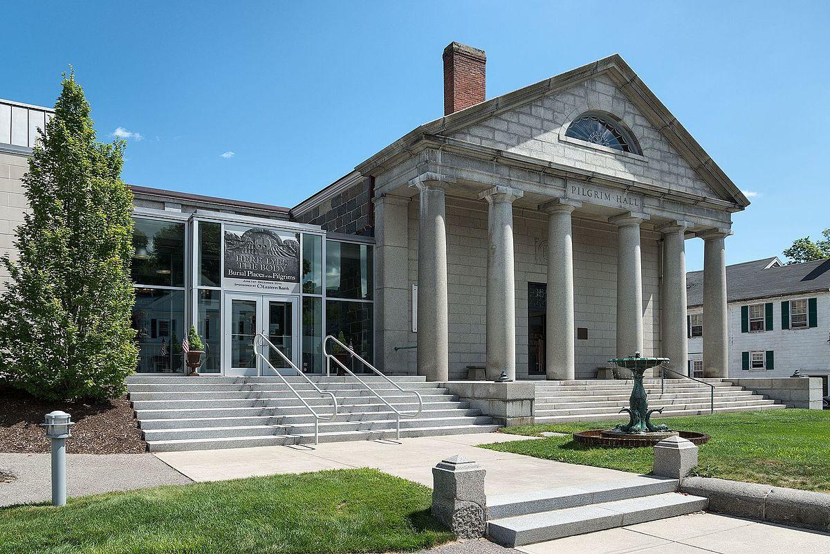 Foyer Museum Usa : Pilgrim hall museum wikipedia