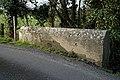 Pincey Brook bridge parapet at Hatfield Broad Oak, Essex England.jpg