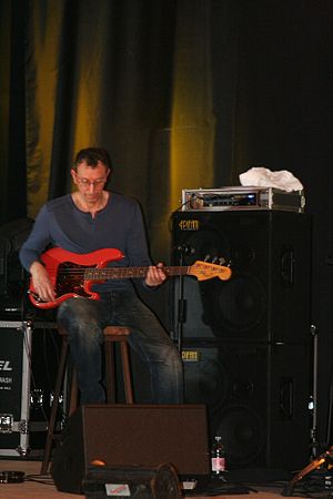 Pino Palladino - At the Amarone in Jazz festival, San Pietro in Cariano, Italy, September 2008