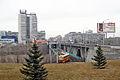 Pionerskaya metrotram station from Chekistov Square in Volgograd.jpg