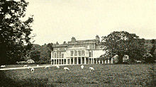 Pitfour house in the late 1800s