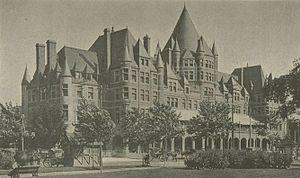 Place Viger - Place Viger, c. 1900