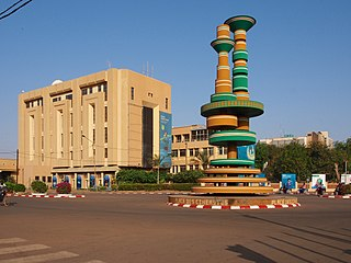 Ouagadougou City in Centre Region, Burkina Faso