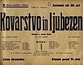 Plakat za predstavo Kovarstvo in ljubezen v Narodnem gledališču v Mariboru 27. februarja 1940.jpg