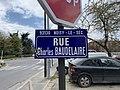 Plaque Rue Charles Baudelaire - Noisy-le-Sec (FR93) - 2021-04-16 - 2.jpg