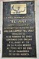 Plaque of El Juli - Plaza Mexico.jpg