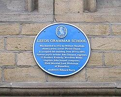 Photo of Leeds Grammar School, Edward Barry, William Nicholson, John Smeaton, and 3 others