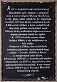Plaque with the history of the Castle, Kőszeg, 2016-03-06.jpg