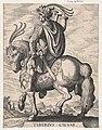 Plate 3- Emperor Tiberius on Horseback, from 'The First Twelve Roman Caesars', after Tempesta MET DP857120.jpg