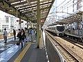 Platform of JR West Shin-Imamiya Station IMG 2986-2 20130512.jpg