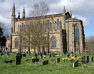 Grade I listed buildings in Lancashire - Image: Pleasington Priory