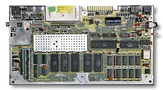Commodore Plus/4 - Main board