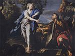 Po, Giacomo del - Rachel at the well - 1690.jpg