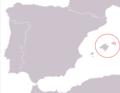 Podarcis lilfordi range Map.png
