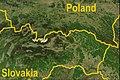 Poland-Slovakia border (satellite).JPG