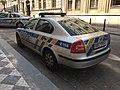 Police car in Prague - Voiture de police dans Prague - CZ Praha 06.jpg