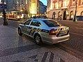 Police car in Prague - Voiture de police dans Prague - CZ Praha 08.jpg