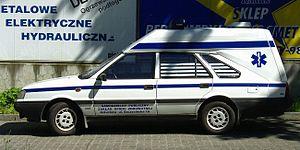 CEN 1789 - Image: Polonez ambulance