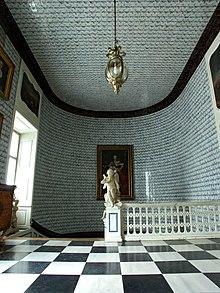 Haupttreppenhaus Mit Holländischen Kacheln