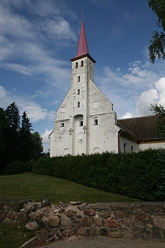 Põlva - Põlva church