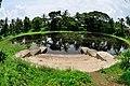 Pond with Ghat - Bardhaman Science Centre - Bardhaman 2015-07-24 1208.JPG