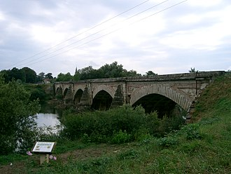Émiland Gauthey - Navilly Bridge in Saône-et-Loire