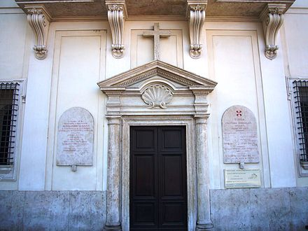 The Methodist chapel in Rome houses Italian and English-speaking congregations. Ponte - memoria Gavazzi e chiesa evangelica 1130333.JPG