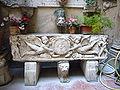 Ponte - s maria d Anima - sarcofago nel cortile 1010741.JPG