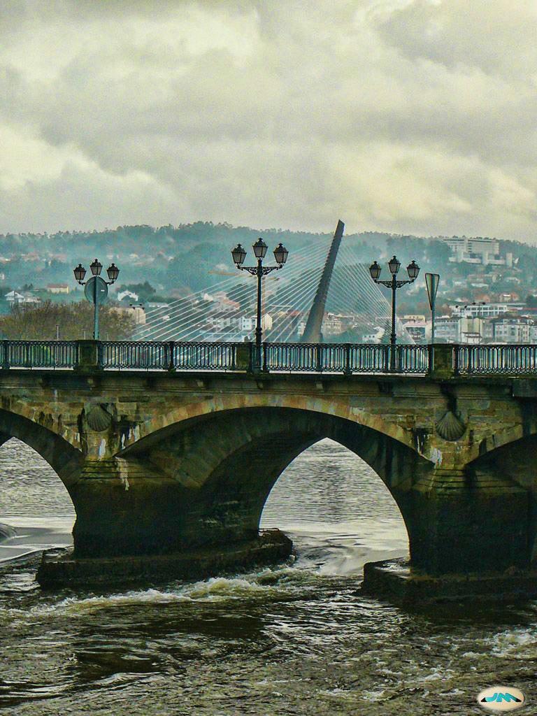 Pontevedra, Galicia (Spain). Ponte do Burgo